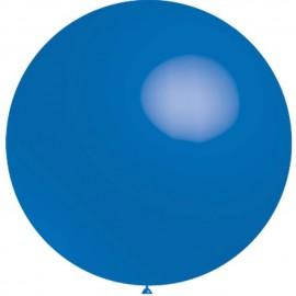 Globos de latex de 2Ft (61Cm) Azul Balloonia