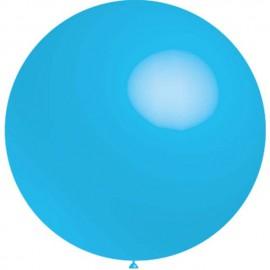 Globos de latex de 2Ft (61Cm) Azul Celeste Balloonia