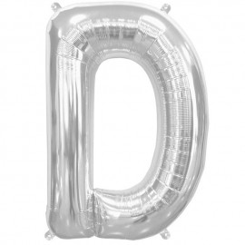 """Globos de Foil de 16"""" (41cm) Letra D"""