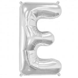 """Globos de Foil de 16"""" (41cm) Letra E"""