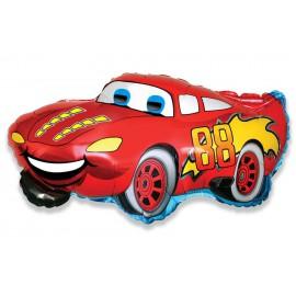 "Globos de foil Mini de 13"" X 13"" (33cm x 33cm) Racing"