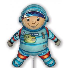 """Globos de foil Mini de 14"""" X 12"""" Astronauta"""