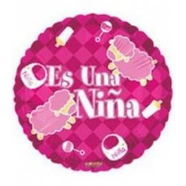 """Globos de foil de 18"""" Es Una Niña 2"""
