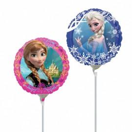 """Globos de foil Mini 9"""" (22Cm) Anna Y Elsa Frozen"""