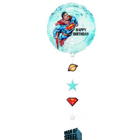 """GLOBO DE FOIL 36"""" SUPERMAN"""