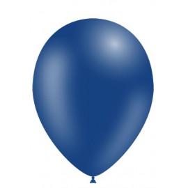"""Globos de 11"""" (28cm) Azul Marino Balloonia Bolsa 50"""