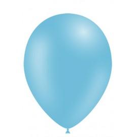"""Globos de 11"""" (28cm) Azul Celeste Balloonia Bolsa 50"""