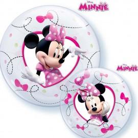 "Globos de 12"" (30Cm) Air Bubble Minnie"