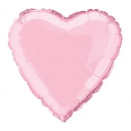 """Globos de foil corazones 18"""" ROSA"""