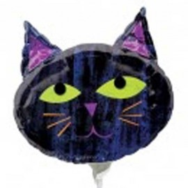 """Globos de foil de 14"""" Gato"""