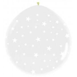 Globos R-5 (13Cm) Cristal Estrellas