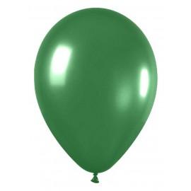"Globos redondos de 5"" Verde Metálico"
