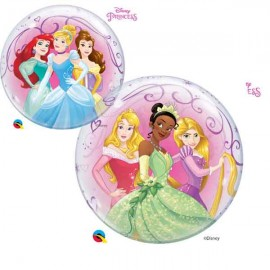 """Globos de foil de 22"""" Bubbles Princesas Disney"""