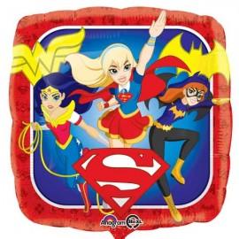 """Globos de foil de 18"""" Super Hero Girls"""
