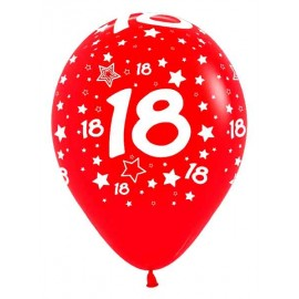Globos R-12 (30Cm) Número 18
