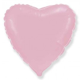"""Globos de foil corazones 18"""" Baby Rosa Pastel"""