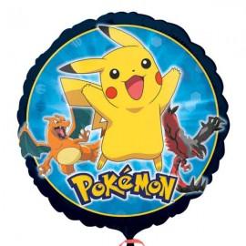 """Globos de foil 18"""" (45Cm) Pokemon"""