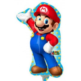 Globos de foil Mini Super Mario Bros