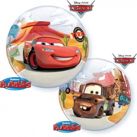 """Globos de foil de 22"""" Bubbles Cars Disney"""