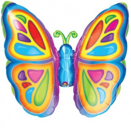 Globos de foil Mariposa mini