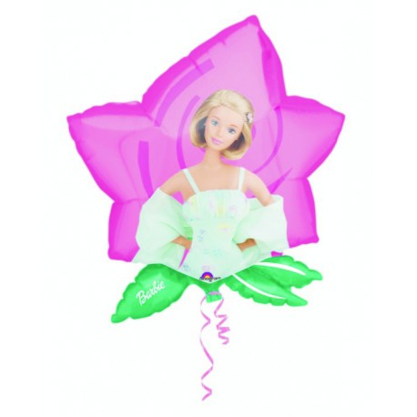 "GLOBOS DE FOIL DE 23"" X 25"" BARBIE SUPERSHAPE"