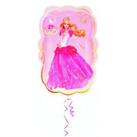 """Globos de foil supershape de 16"""" X 25"""" Barbie bailarina"""