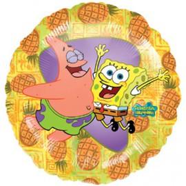 """Globos de foil de 18"""" Bob y Patricio"""