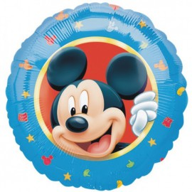 "Globos de foil de 18"" Mickey Azul"