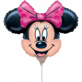 Globos de foil Minnie mini