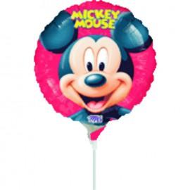 """Globos de foil de 9"""" Mickey redondo"""