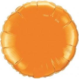 """Globos de foil Redondos de 18"""" Naranja"""