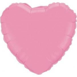 """Globos de foil Corazón 18"""" Rosa"""