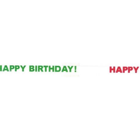 Cinta curling 5mm x 500m diseño happy birthday