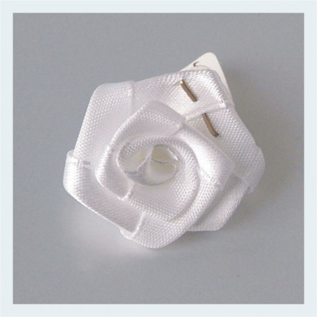 Rosa blanca autoadesiva