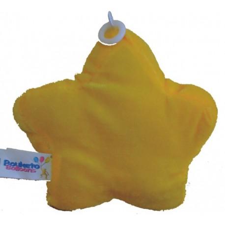 Peso para globos Estrella Amarilla