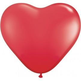Globos gigantes de 3FT Corazón Rojo Qualatex