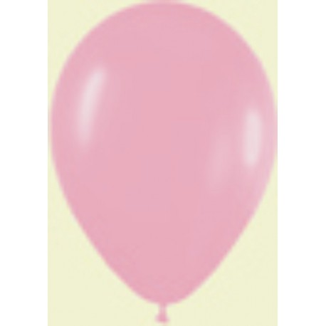 "Globos de 9"" (22,8cm) Fashion solido Rosa chicle Sempertex"