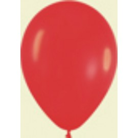 "Globos de 9"" (22,8cm) Fashion solido rojo Sempertex"