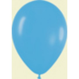 "Globos de 9"" (22,8cm) Fashion solido Azul Sempertex"