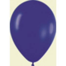 "Globos de 9"" (22,8cm) Fashion solido Azul Rey Sempertex"