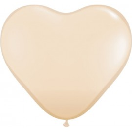 "Globos de 6"" (15Cm) corazones Blush Qualatex"