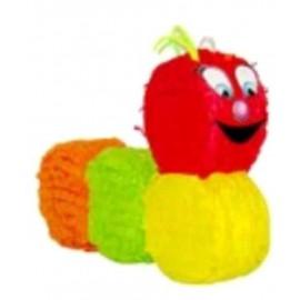 Piñata Gusano multicolor