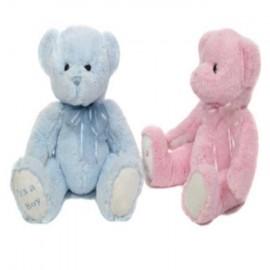 Osito Rosa y Azul Cuddles Time