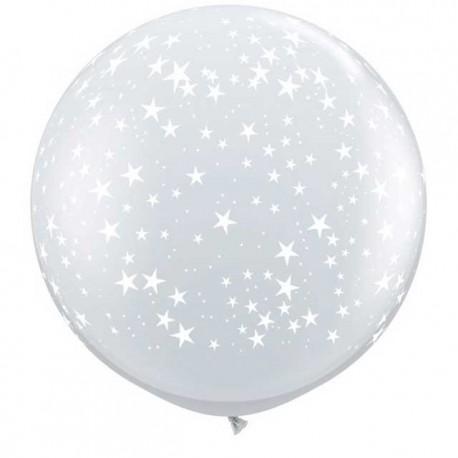 Globos de 3FT Estrellas crystal claro
