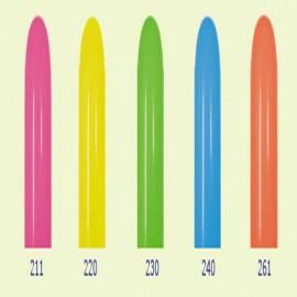 Globos de modelar 260S colores Neon surtidos Sempertex