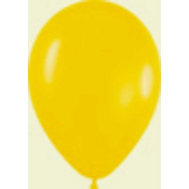 "Globos de 11"" Fashion solido amarillo Girasol Sempertex"