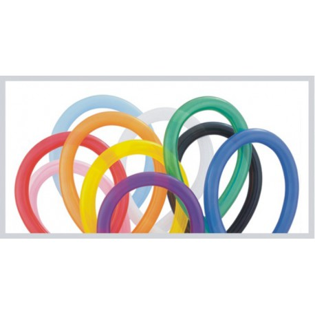Globos de modelar 360S colores solidos surtidos