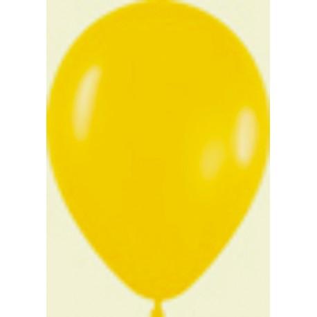 "Globos de 9"" (22,8cm) Fashion solido Amarillo Girasol Sempertex"