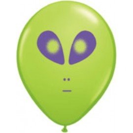 "Globos de 11"" (28Cm) Alien Qualatex"