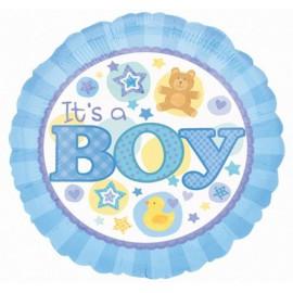 """Globos de foil de 18"""" Boy Patito"""